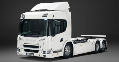 Scania electric truck
