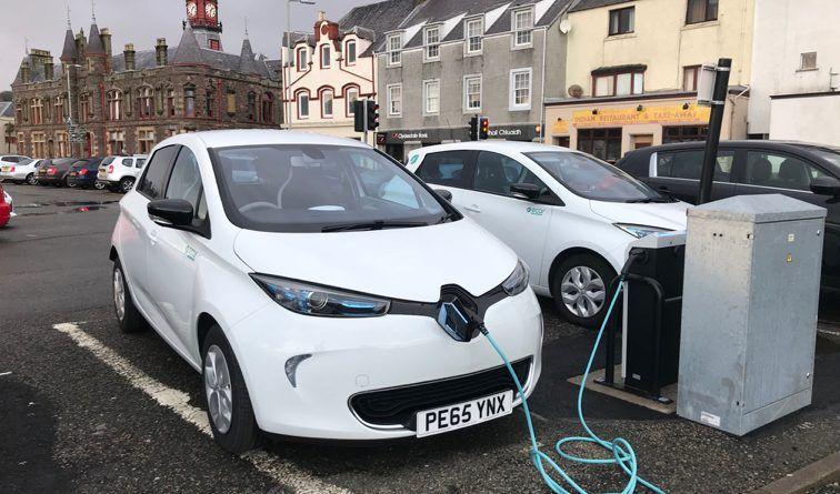 Highlands charging network