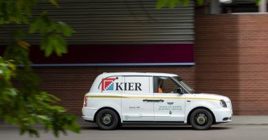 Kier electric taxi conversion