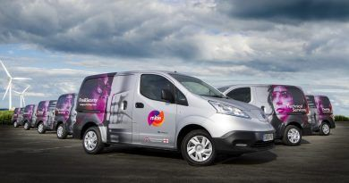Mitie electric vans
