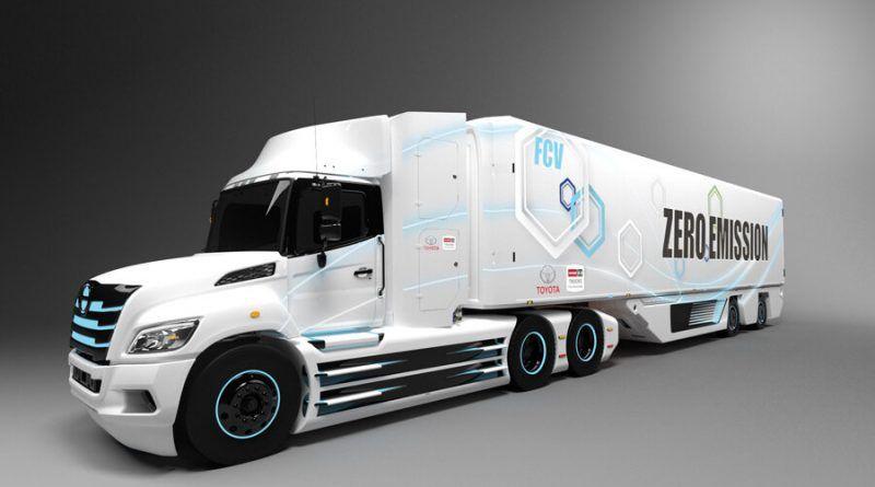 Toyota and HIno truck