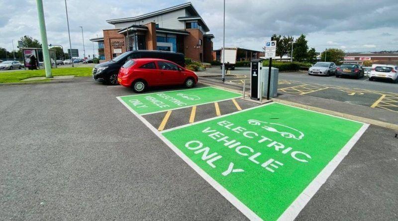 Blackburn charging points