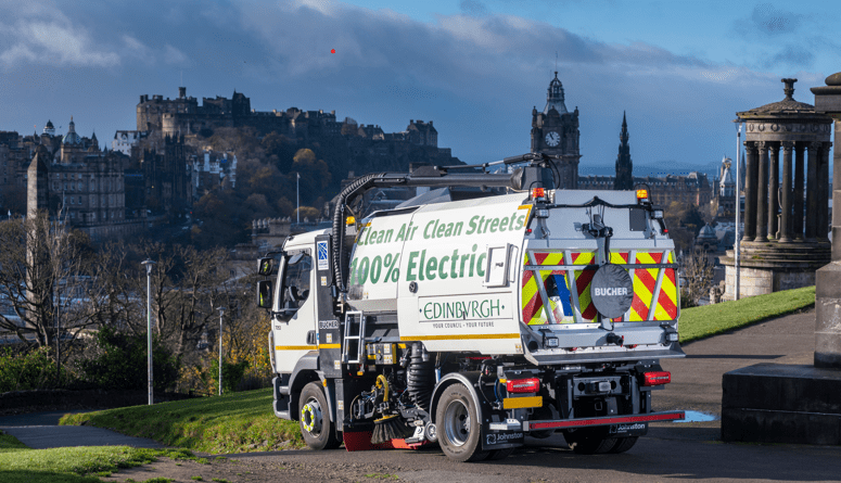 Edinburgh sweeper