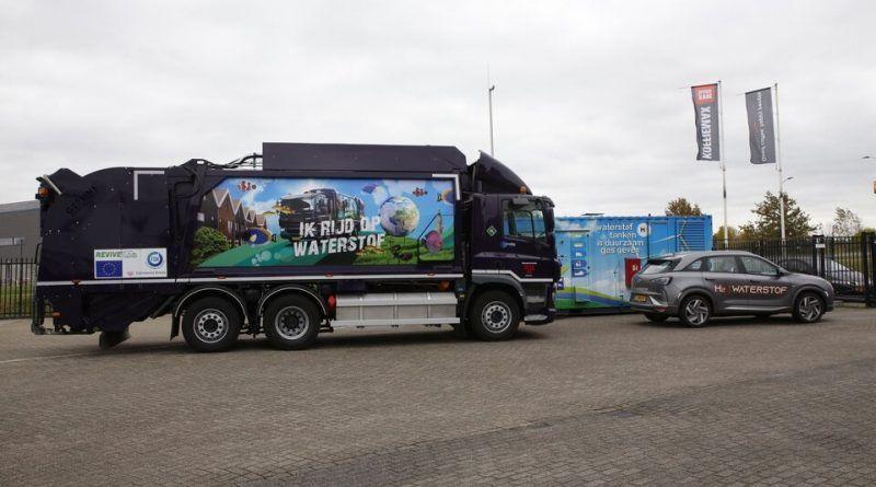 Netherlands refuse truck