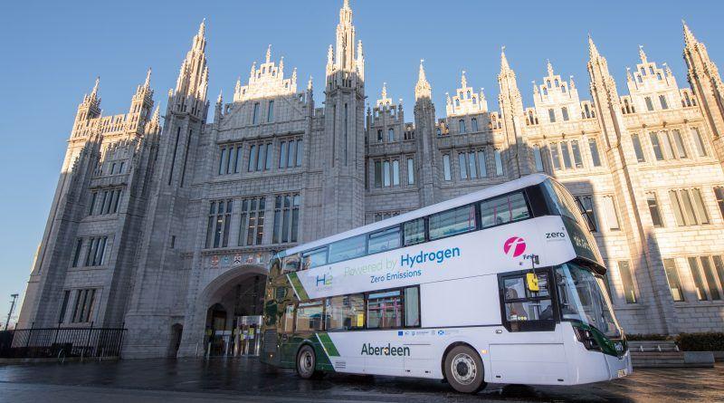Aberdeen hydrogen bus