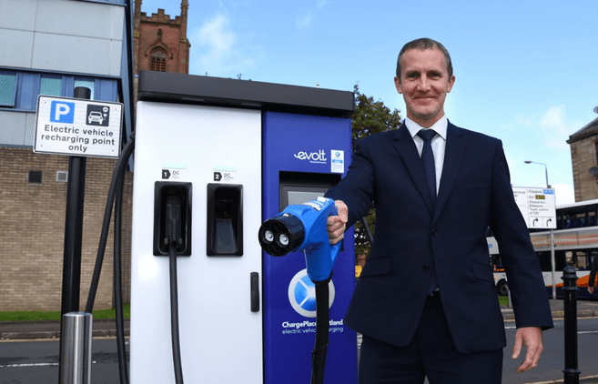 SWARCO eVolt to operate Scots charging network