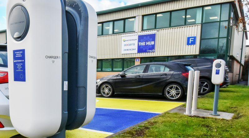 Actemium UK industrial perimeter goes all-electric with company car fleet