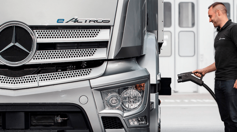 Mercedes-Benz Trucks forms charging infrastructure partnership with EVBox Group