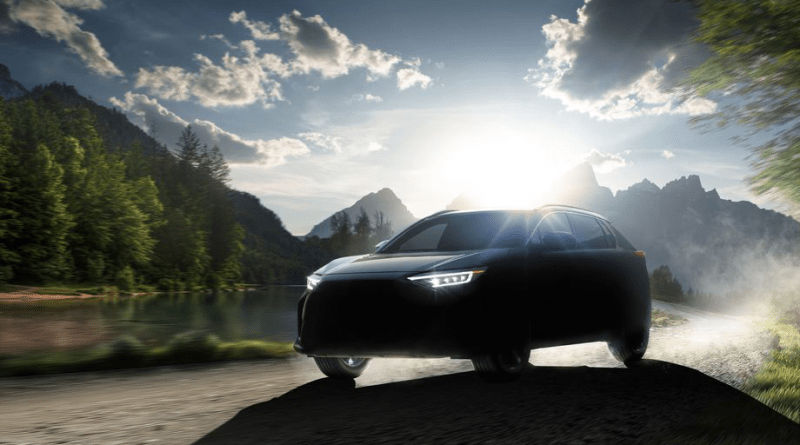 Subaru unveils Solterra EV