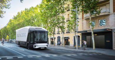 Volta Trucks, Madrid Spain, press image