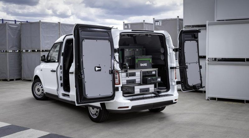 LEVC plans major European expansion with electric van