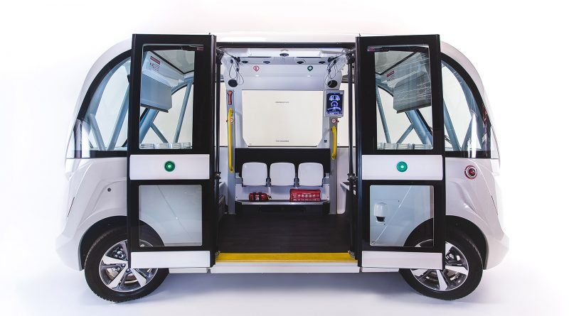 Autonomous electric shuttle trial launches at Harwell Campus