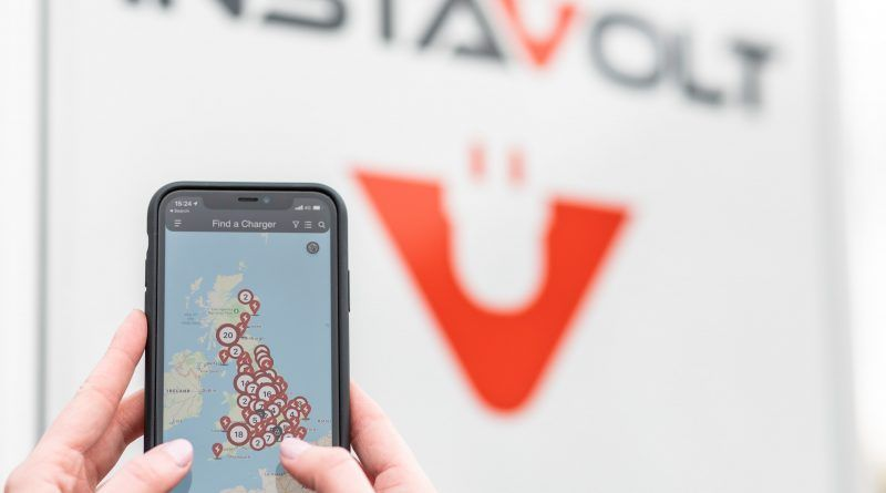 InstaVolt launches app to address range anxiety in UK