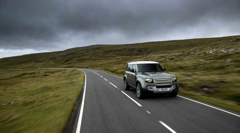Jaguar Land Rover developing prototype hydrogen fuel cell electric vehicle