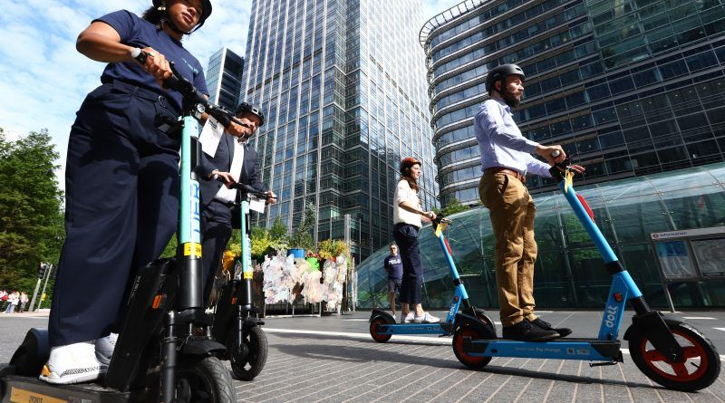 London's trial of rental e-scooters begins