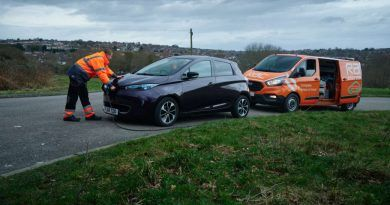 RAC deal will see hundreds more mobile EV charging vans on the road