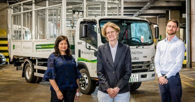 Islington welcomes new electric cage tippers at Waste and Recycling Centre