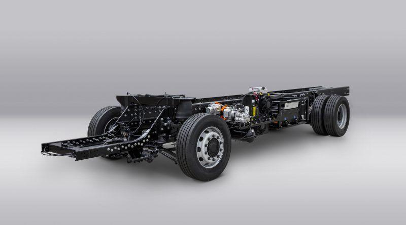 Volta Trucks reveals the first running Volta Zero prototype chassis