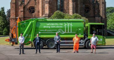 First rural electric bin lorries to support Dumfries and Galloway's 2025 net zero drive
