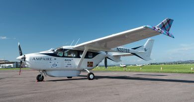 Ampaire brings hybrid electric flight to South West England