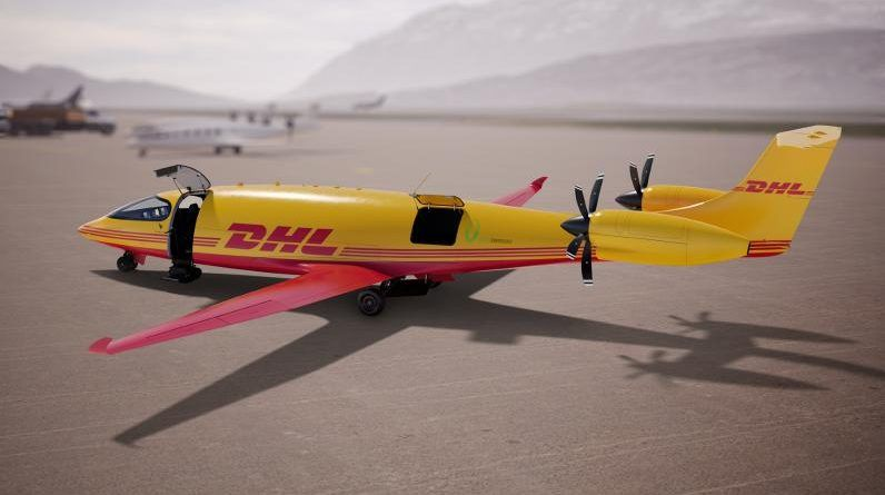 DHL Express orders of first-ever all-electric cargo planes