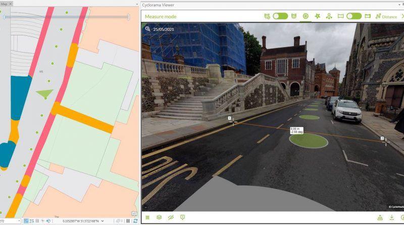 Harrow creates digital twin with street imagery and LiDAR data