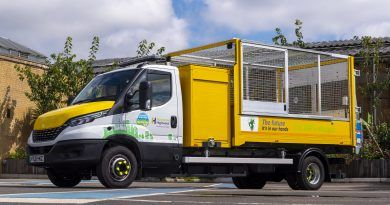 Ringway receives UK's first zero emission 7.2t commercial vehicle