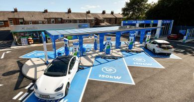MFG opens ultra-rapid electric vehicle charging station in Manchester
