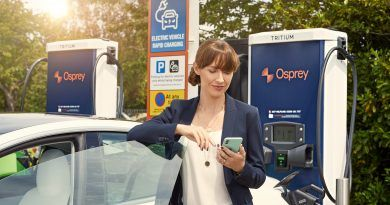 Paua partners with Osprey Charging Network