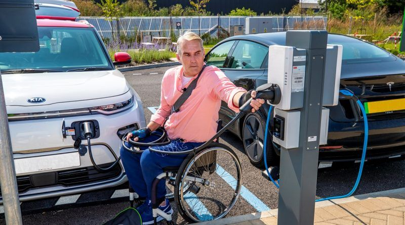 Accessible EV charging - user engagement findings published