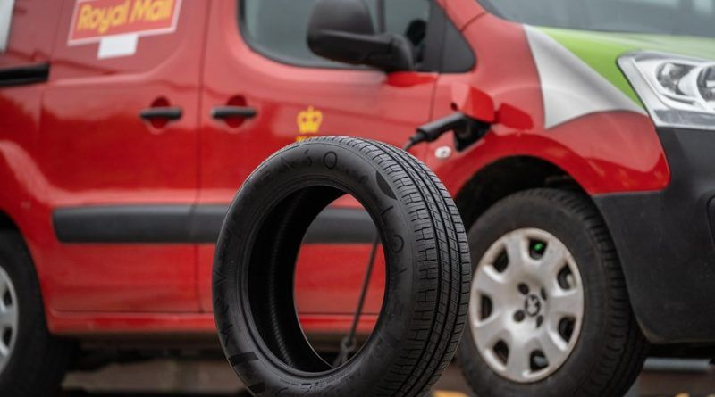 Royal Mail begins emission-cutting tyre trial for electric vans