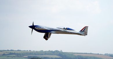 Rolls-Royce completes test flight of first all-electric aircraft