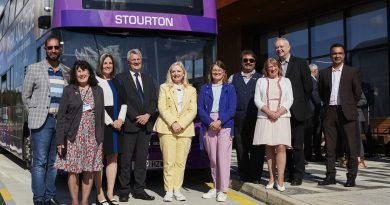 Stourton fully solar-powered park and ride officially opens