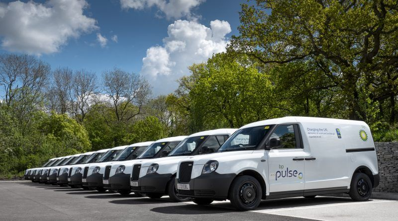 LEVC supplies bp pulse with 30 electric vans